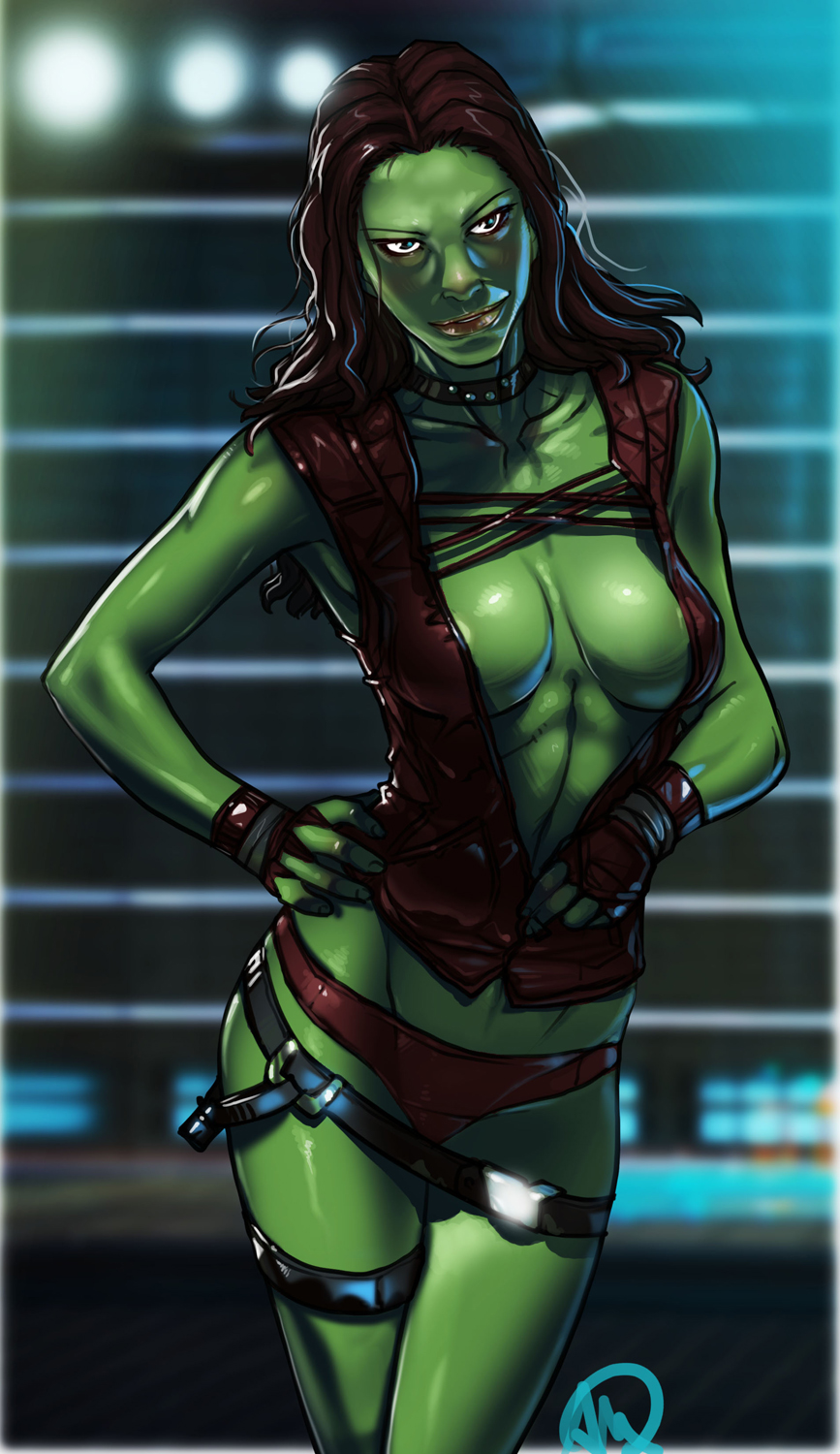 nude galaxy guardians gamora the of 5 nights at anime game