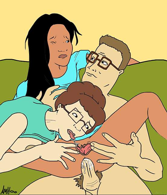 cartoon king porn of the hill One day at a time nude