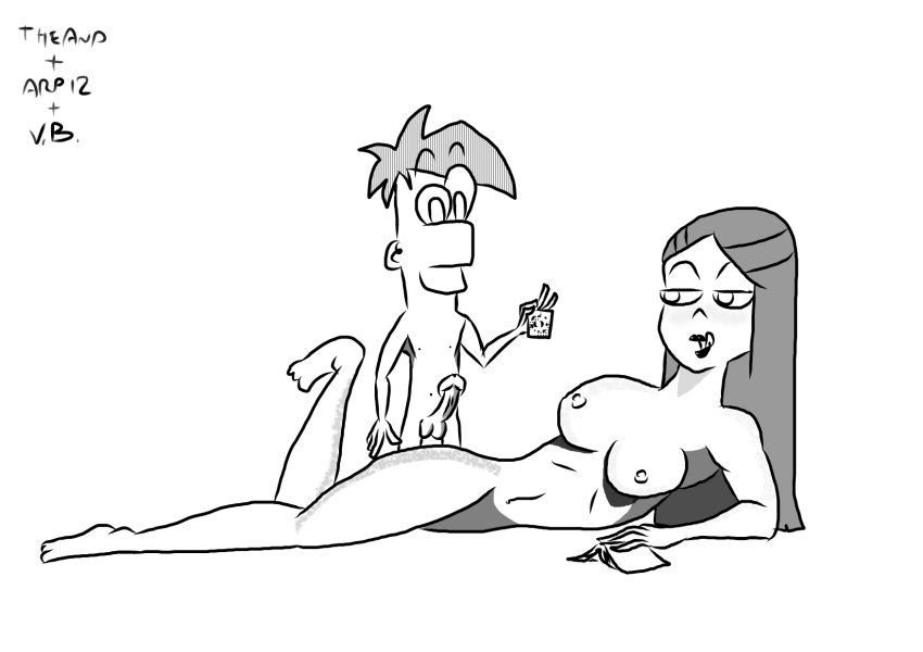 mom nude phineas ferb and Mighty jill off