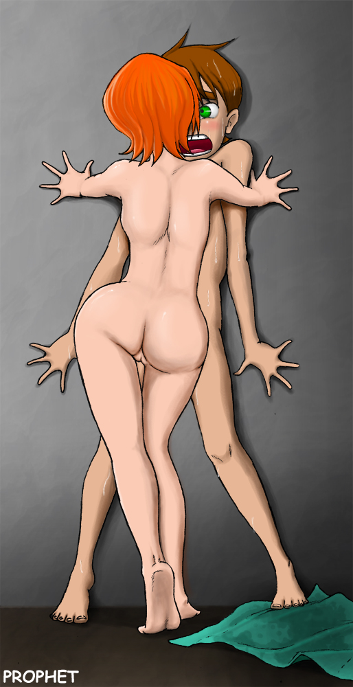gwen 10 ben nude from Beauty and the beast beastiality