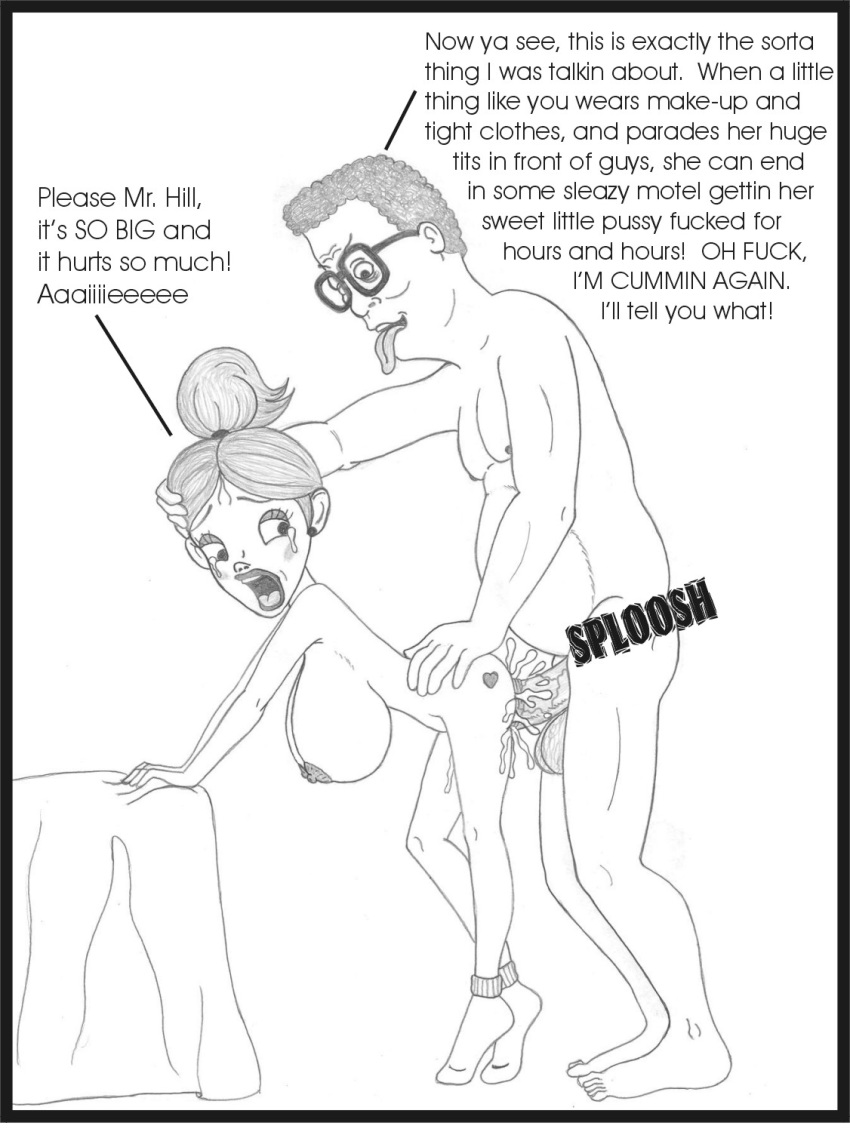hill the king of Detroit become human porn comic